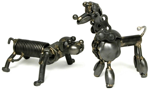 Bulldog and poodle - perfect for your friends who like dogs!