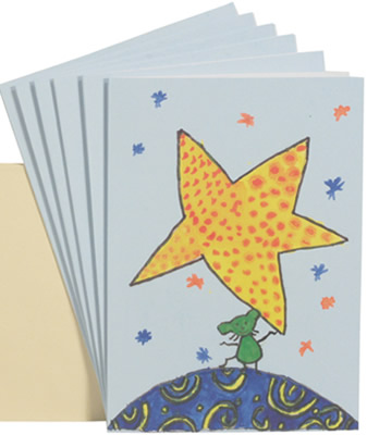 Star cards help disadvantaged Indian children receive schooling.