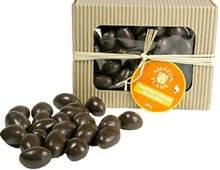 natural Jungle Chocolates from Yachana Gourmet, and Amazon Flame brazil nuts and chocolate.