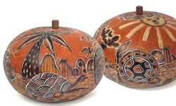 Gourd box - perfect for all kinds of knick knacks.