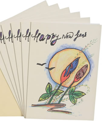 Cards to bring in the new year and improve lives of children.