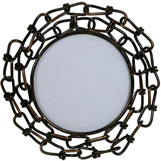 Metal photo frame design #1 from Indian artisans.