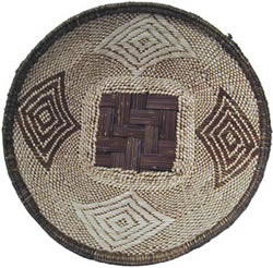Example design of a Plateau basket from Zambia.