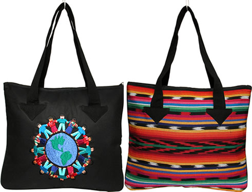 World Bag style 1 - handmade in Guatemala.