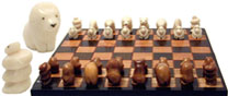 tagua nut chess sets.